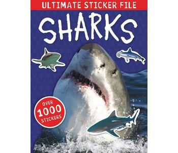 Ultimate Sticker File Sharks Paperback