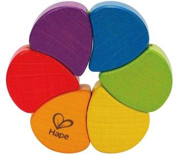 Hape Baby Rainbow Rattle