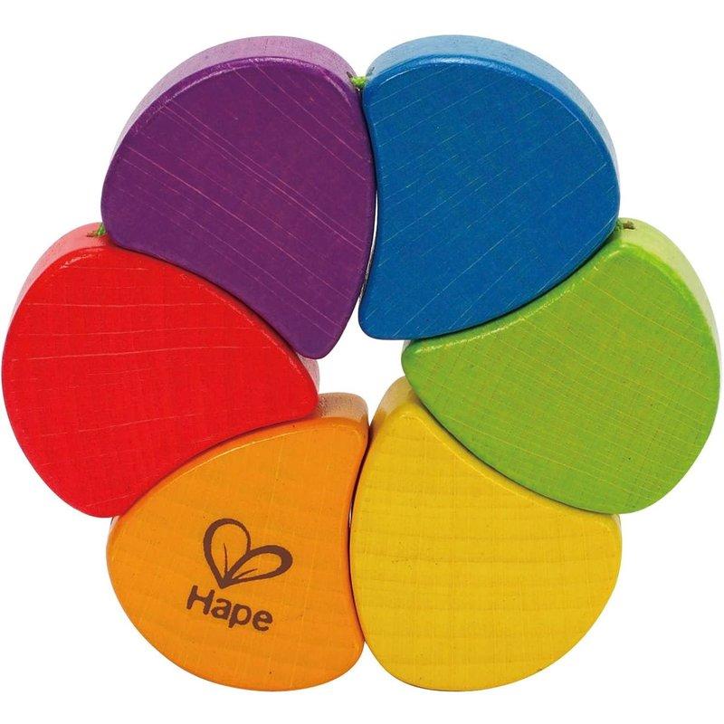 Hape Toys Hape Baby Rainbow Rattle