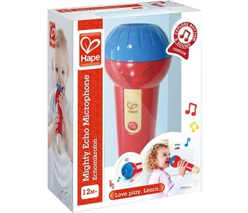 Hape Early Melodies Mighty Echo Microphone