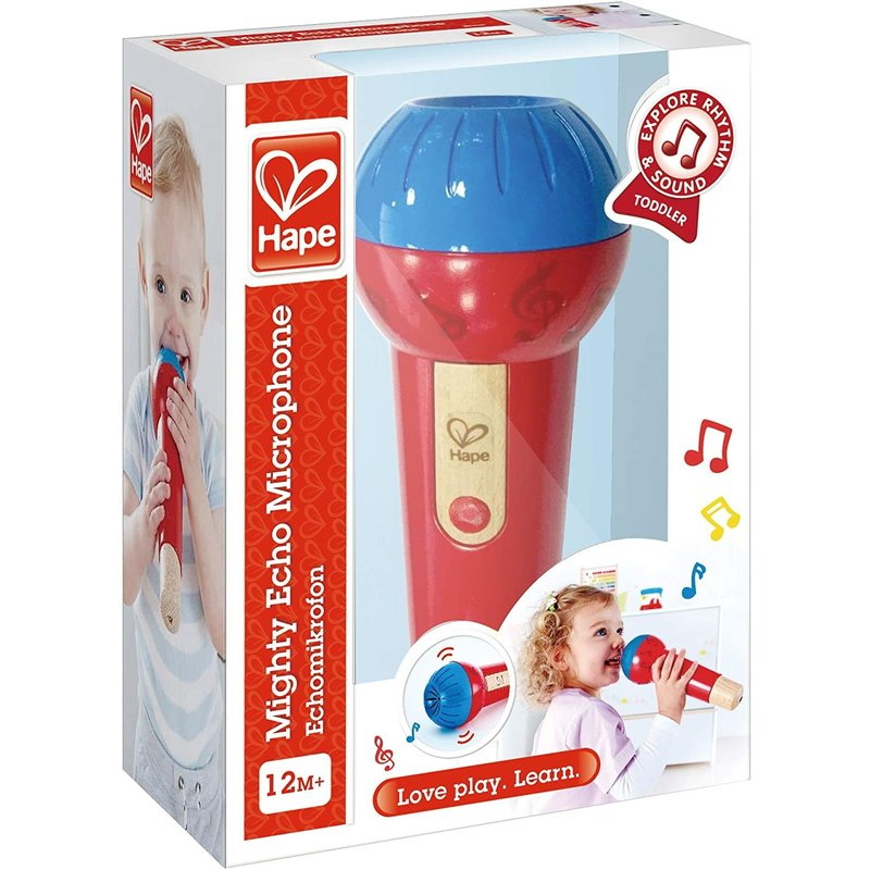 Hape Toys Hape Early Melodies Mighty Echo Microphone
