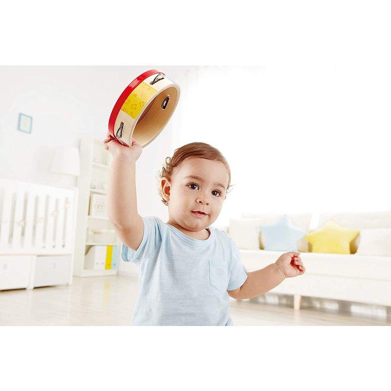 Hape Toys Hape Tap Along Tambourine New