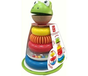 Hape Toddler Mr. Frog Stacking Rings