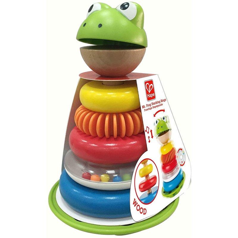 Hape Toys Hape Toddler Mr. Frog Stacking Rings