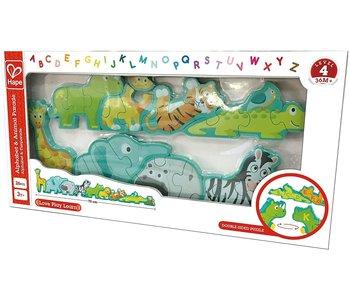 Hape Puzzle Animal and Alphabet Parade