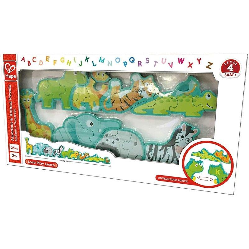 Hape Toys Hape Puzzle Animal and Alphabet Parade