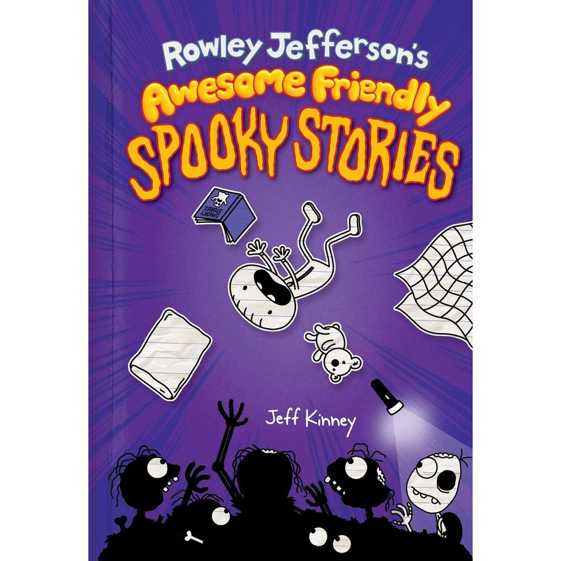 Amulet Books Rowley Jefferson's Awesome Friendly Spooky Stories