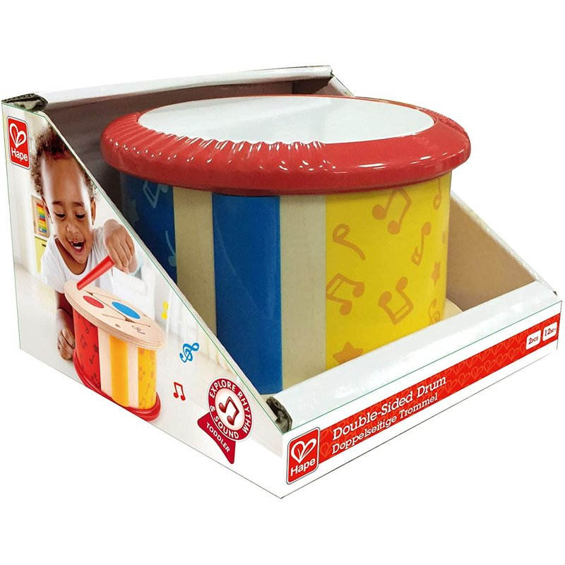 Hape Toys Hape Early Melodies Double-Sided Drum