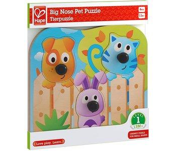 Hape Knob Puzzle Big Nose Pets