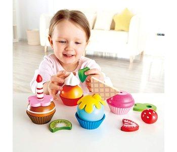 Hape Play Food Cupcakes