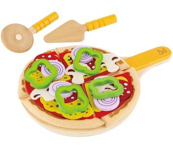 Hape Play Food Perfect Pizza Playset