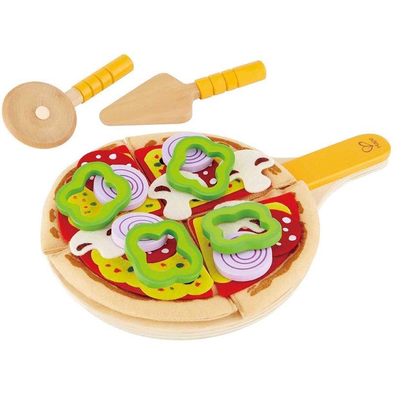 Hape Toys Hape Play Food Perfect Pizza Playset