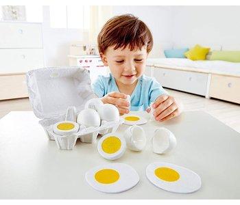 Hape Play Food Egg Carton