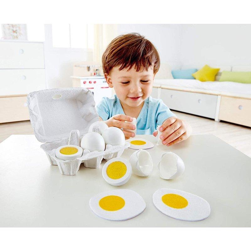 Hape Toys Hape Play Food Egg Carton
