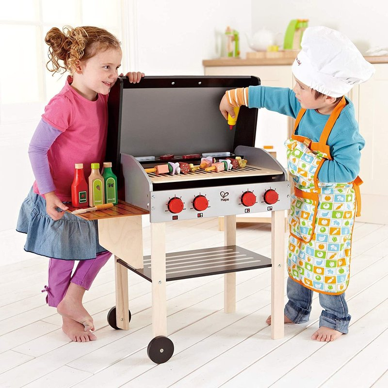 Hape Toys Hape Gourmet Grill with Food