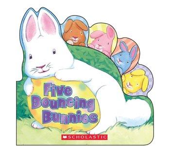 Five Bouncing Bunnies Board Book