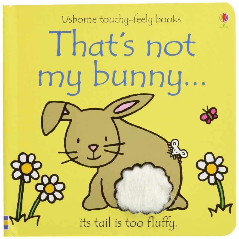 Usborne Touchy-Feely Board Book: That's Not My Bunny