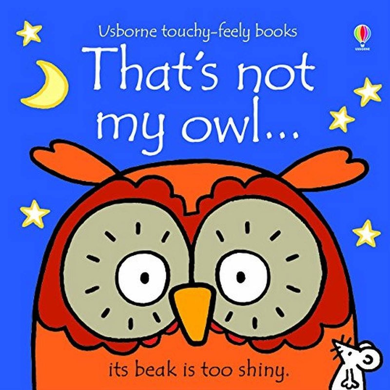 Usborne Touchy-Feely Board Book:  That's Not My Owl