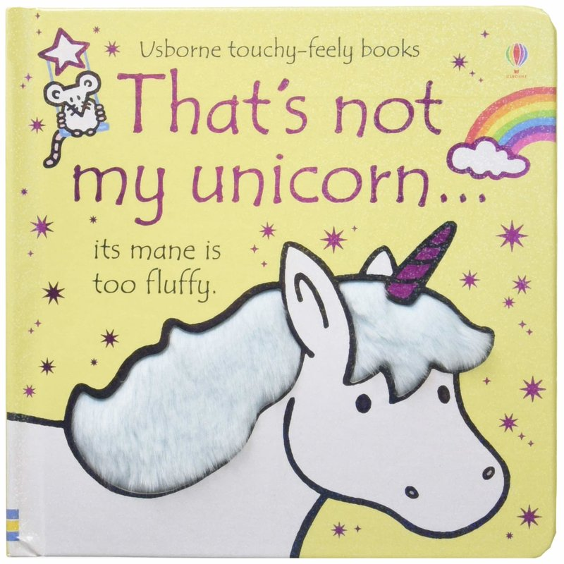 Usborne Touchy-Feely Board Book: That's Not My Unicorn