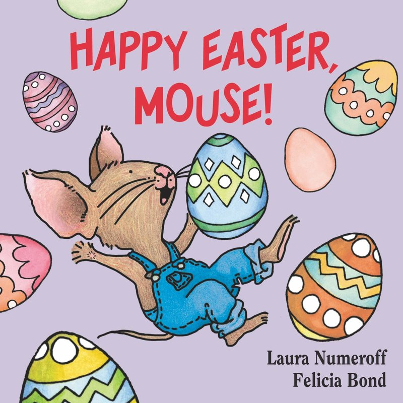 Harper Collins Happy Easter Mouse! Board Book