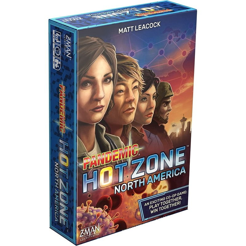 Z-Man Games Pandemic Hot Zone North America