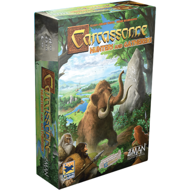 Z-Man Games Carcassonne Hunters and Gatherers Game