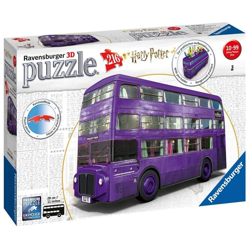 Ravensburger Ravensburger Puzzle 3D Harry Potter Knight Bus