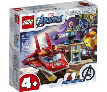 Lego Marvel Avengers Iron Man vs Thanos