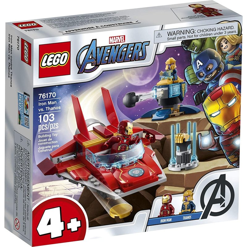 Lego Lego Marvel Avengers Iron Man vs Thanos