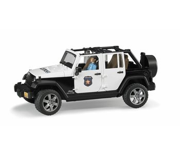 Bruder Jeep Police Vehicle
