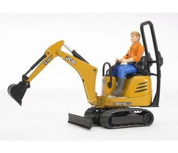 Bruder JCB Micro Excavator with Man