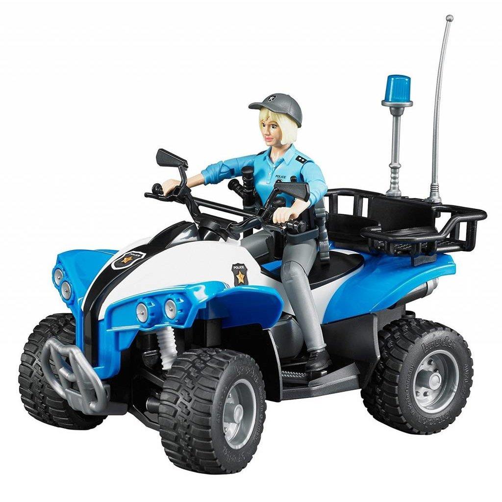 Bruder Bruder Police ATV with Driver