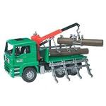 Bruder Bruder MAN Timber Truck with Crane