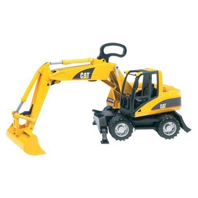 Bruder Bruder CAT Wheel Excavator