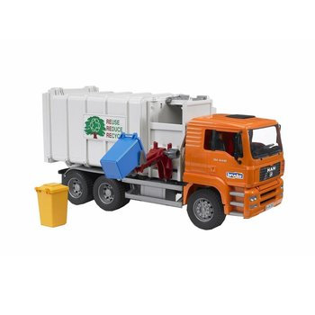 Bruder Bruder MAN Recycling Truck-disc