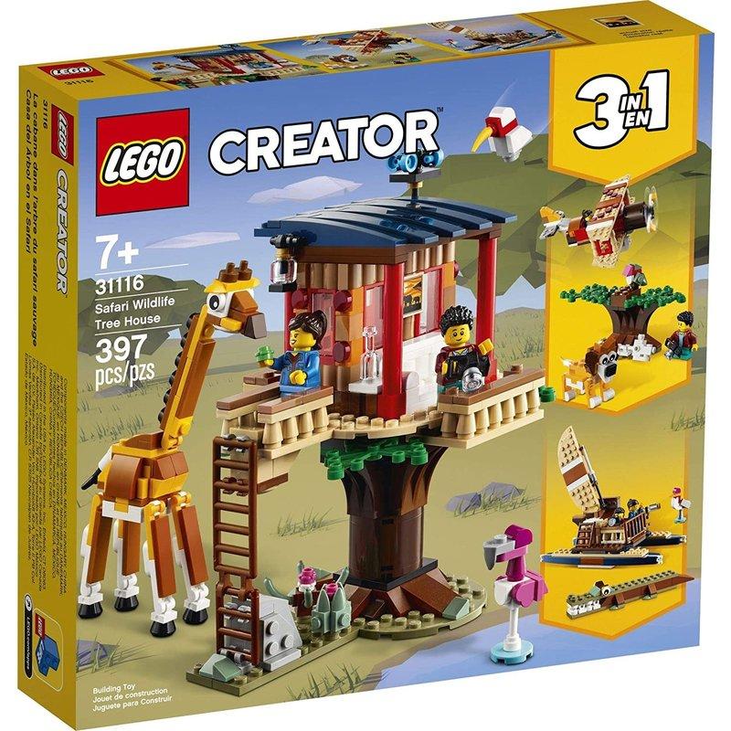 Lego Lego Creator Safari Wildlife Treehouse