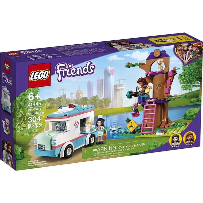 Lego Lego Friends Vet Clinic Ambulance