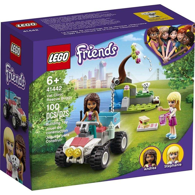 Lego Lego Friends Vet Clinic Rescue Buggy