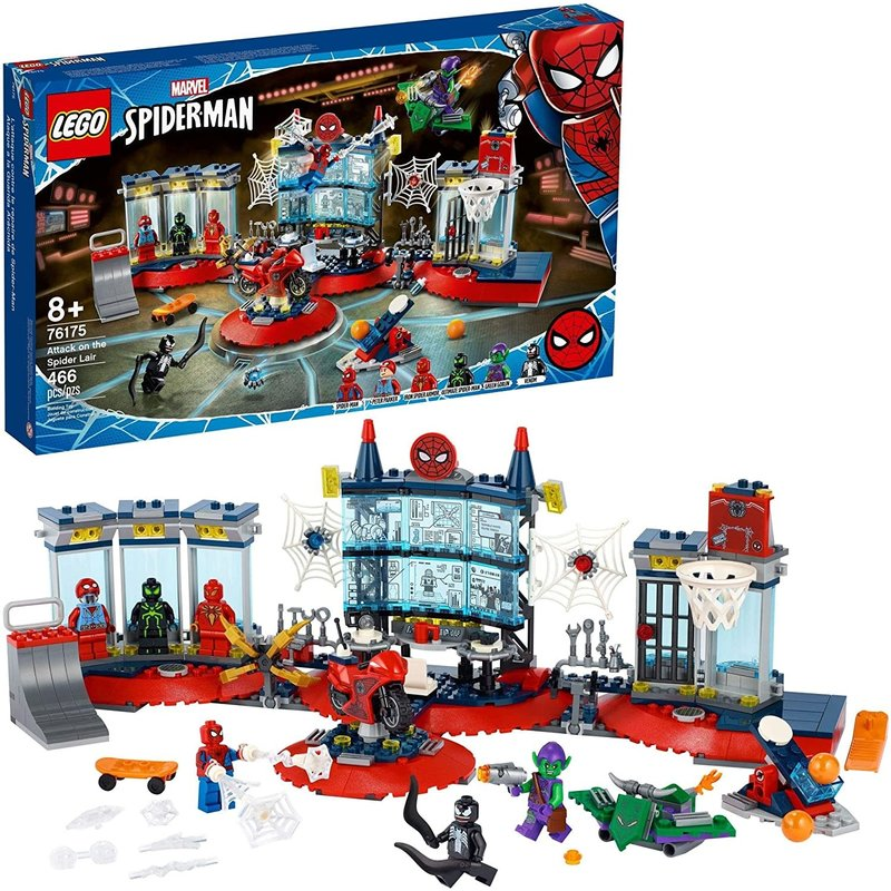 Lego Lego Super Hero Attack on the Spider Lair