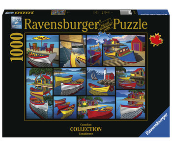 Ravensburger Puzzle 1000pc Canadian On the Water