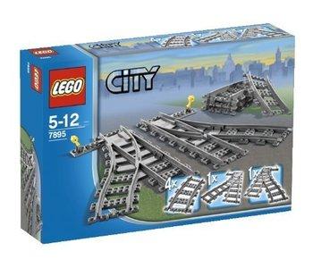Lego City Train Tracks Switch