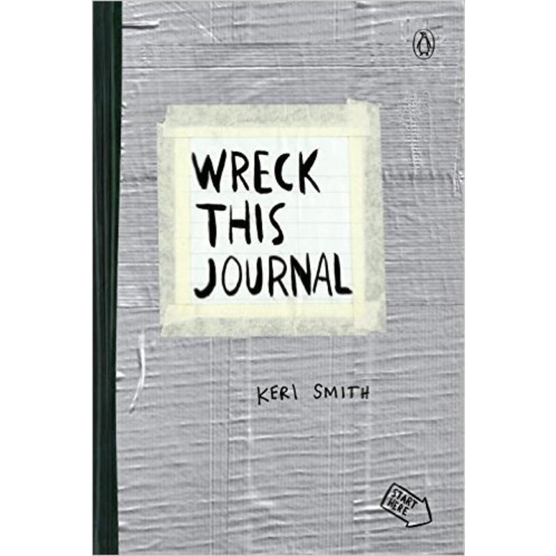 Wreck This Journal: Duct Tape Expanded Edition