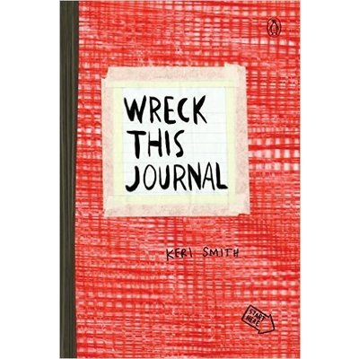 Wreck This Journal: Red Expanded Edition