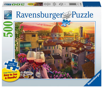 Ravensburger Puzzle 500pc Large Format Cozy Wine Terrace