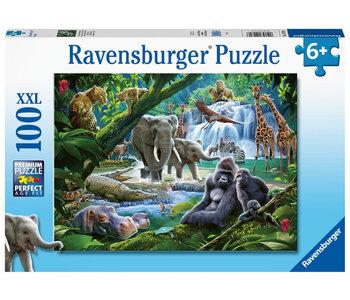 Ravensburger Puzzle 100pc Jungle Animals