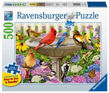 Ravensburger Puzzle 500pc Large Format At the Birdbath