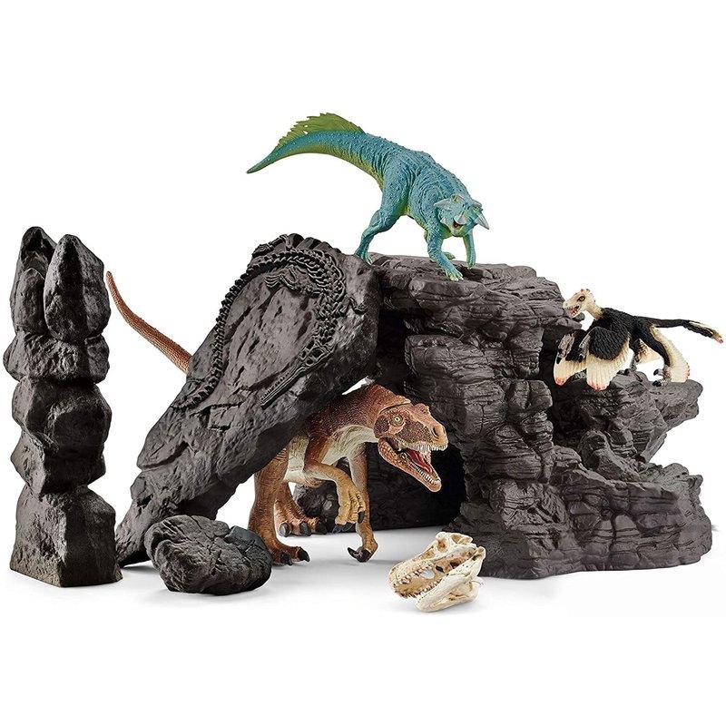 Schleich Dinosaur Set with Cave