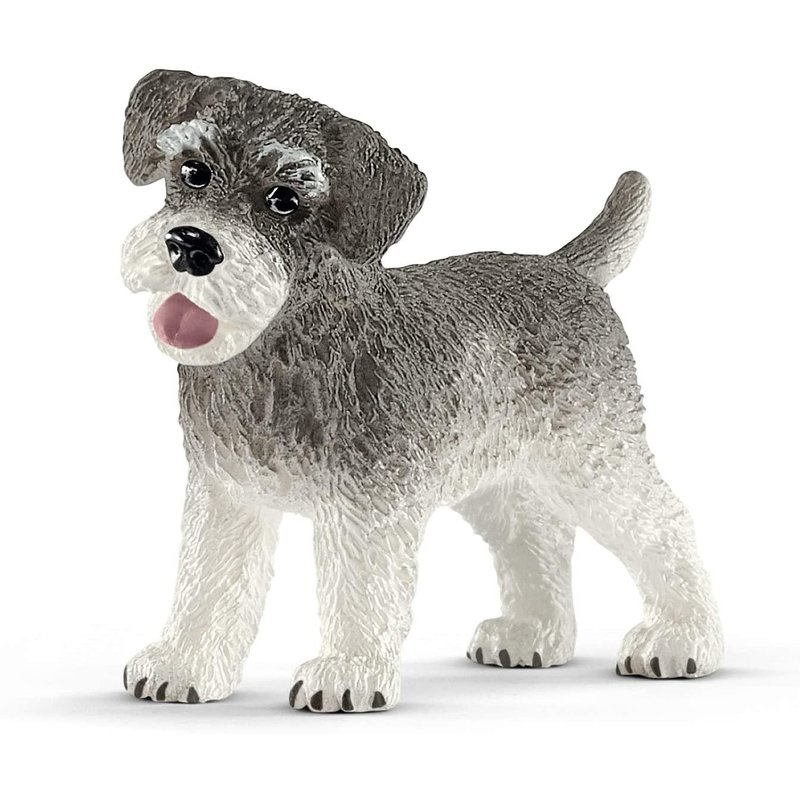 Schleich Farm World Miniature Schnauzer