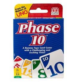 Mattel Card Game Phase 10
