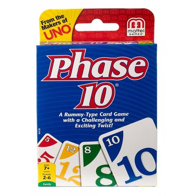 Mattel Card Game Phase 10